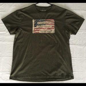 Green Ralph Lauren Polo Flag Shirt
